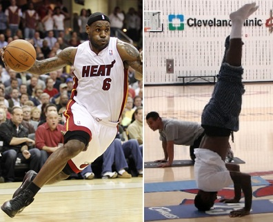 lebron james miami heat dunking wallpaper. pictures LeBron James Heat Reverse Dunk lebron james heat dunking. wallpaper